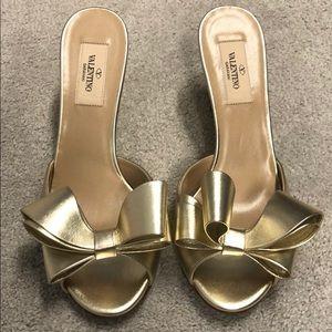 Never worn authentic Valentino sandals